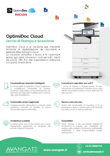 OptimiDoc Cloud per Ricoh