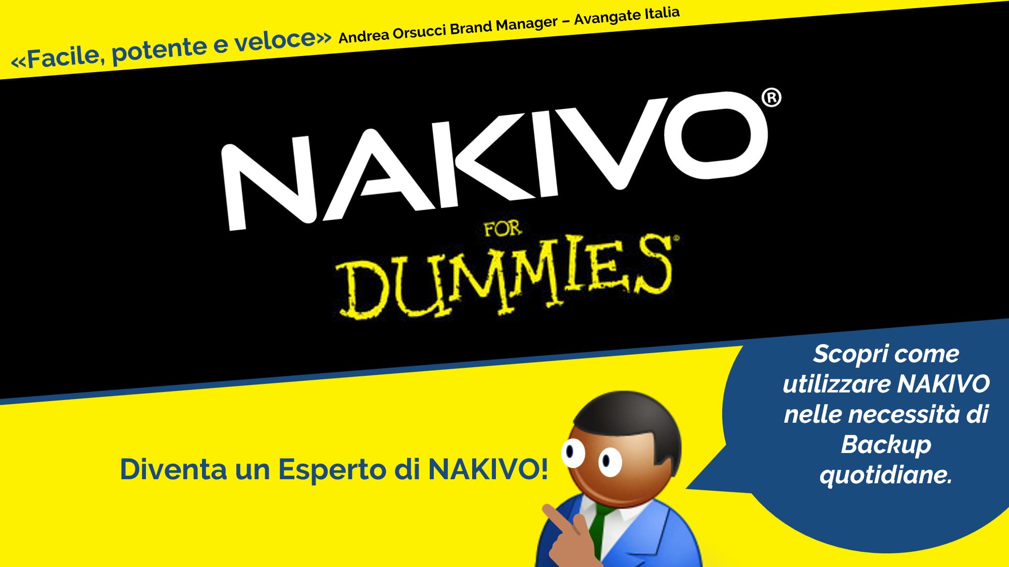 NAKIVO For Dummies