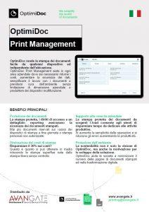 OptimiDoc-Prin tManagement